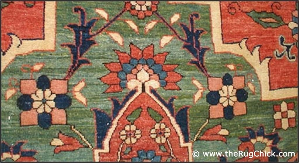 Abrash (front of rug)