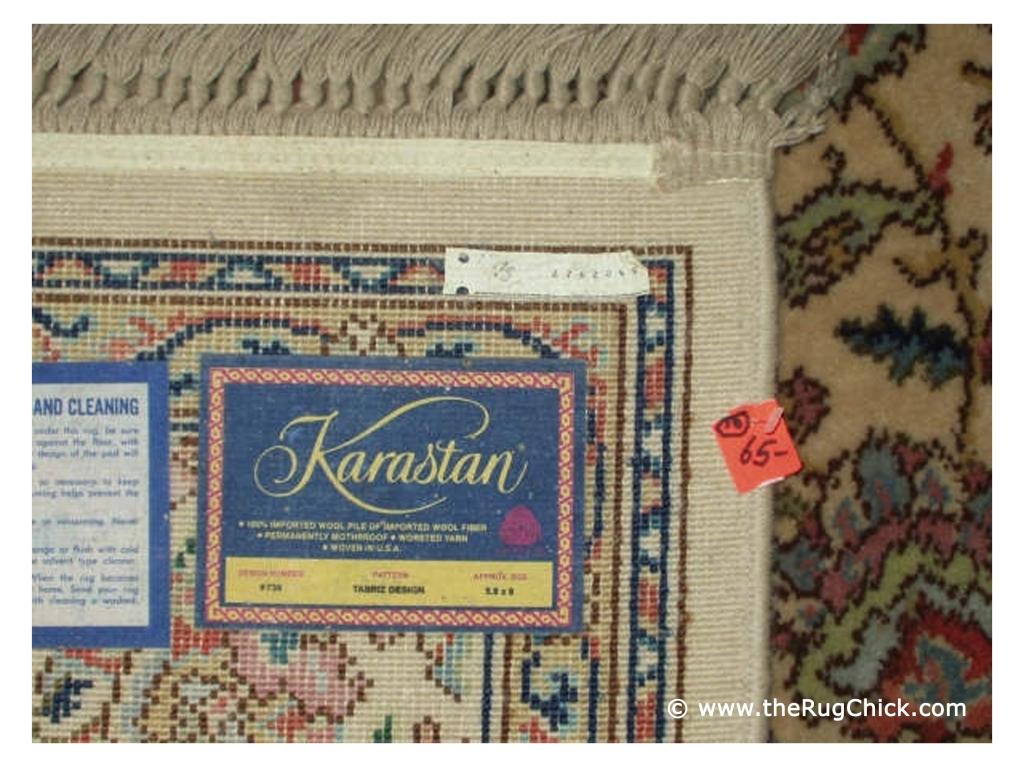 Karastan Machine Woven Wool