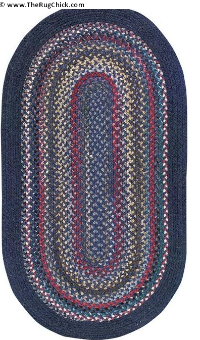 Braided rug from America